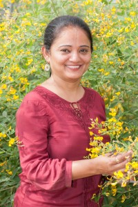 Dr. Shivali Sharma has emerged from the foothills of the Himalayas to become a highly respected pre-breeder of legume crops. Photo: Michael Major/Crop Trust